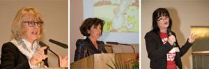 Es sprachen u.a. Bürgermeisterin Scho-Antwerpes und Gleichstellungsbeauftragte Christine Kronenberg. Marina Barth führte als Moderatorin durch den Internationalen Frauentag im Kölner Rathaus.