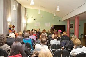 Die Workshops behandelten Themen rund um das Motto FRAUEN beREICHern - Mehr Cash in Frauentäsch.