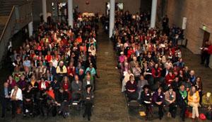 Empfang des Oberbürgermeisters am Internationalen Frauentag im Kölner Rathaus
