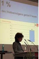 Kölner Gleichstellungsbeauftragte zum Internationalen Frauentag im Rathaus 2014