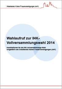 AKF Wahlaufruf zur IHK-Wahl 2014