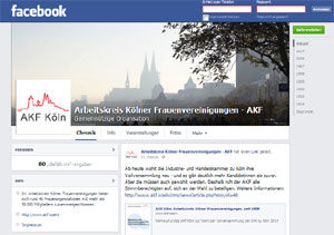AKF Köln auf facebook