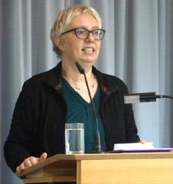 Dr. Antje Schrupp beim AKF Köln am 31.10.2015