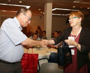 Ron Huldai und Monika Möller