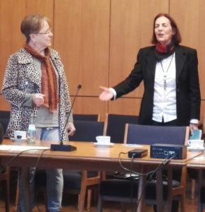 Monika Möller und Ruth Sofer