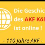 Die AKF-Geschichte ist online!