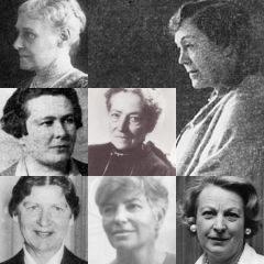 Historische Persönlichkeiten des AKF Koeln