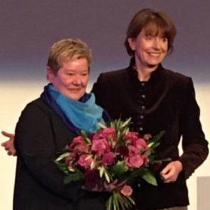 Erste Preisträgerin des Kölner Else-Falk-Preises ist Frauke Mahr!