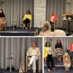 Ratskandidatinnen bei der Podiumsdiskussion zu den AKF-Wahlprüftsteinen 2020